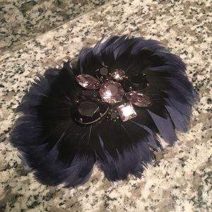 Jewelry - Feather Brooch/Hair Piece